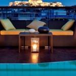 Vista del Acropolis desde el Hotel Melia Athens