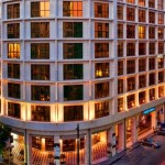 Entrada del Hotel Melia Athens