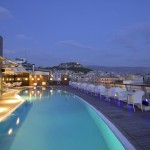 Piscina del Hotel Melia Athens