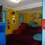 Area de Television del Hostal Jolly Swagman Backpackers