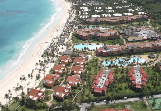 Vista Aerea del Tropical Princess Beach Resort & Spa