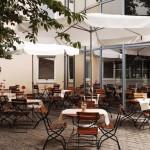 Patio del Hotel NH Muenchen-Neue Messe